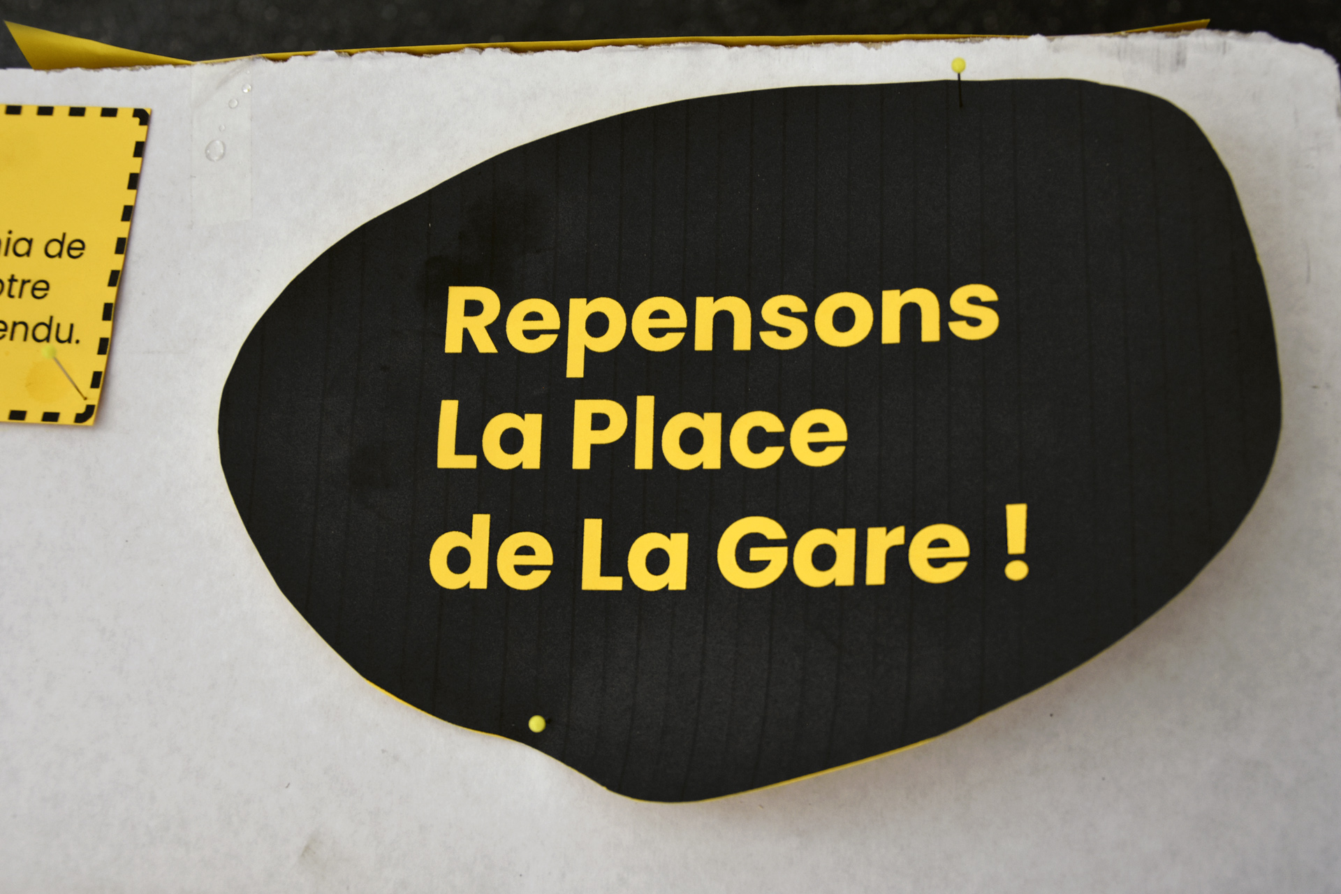 Place de la Gare: la co-conception